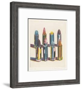 Eight Lipsticks, 1988 by Wayne Thiebaud