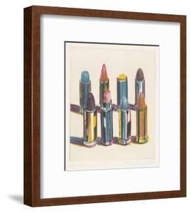 Eight Lipsticks, 1988 by Wayne Thiebaud
