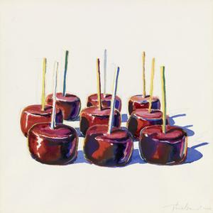 Nine Jelly Apples, 1964 by Wayne Thiebaud