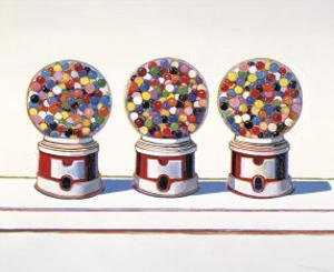 Three Machines, 1963 by Wayne Thiebaud