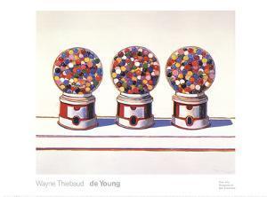 Three Machines (1963) by Wayne Thiebaud