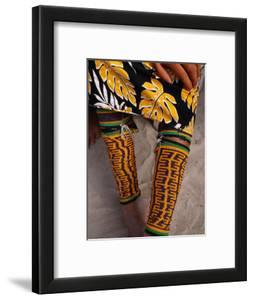 Beaded Ankle and Leg Decoration from San Blas Islands, Panama by Wayne Walton