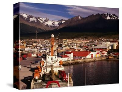 Harbour of City, Ushuaia, Argentina