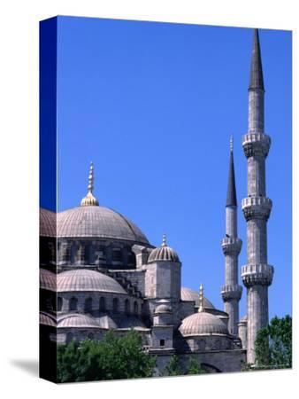 Minarets and Domes of Blue Mosque (1609-19), Istanbul, Turkey