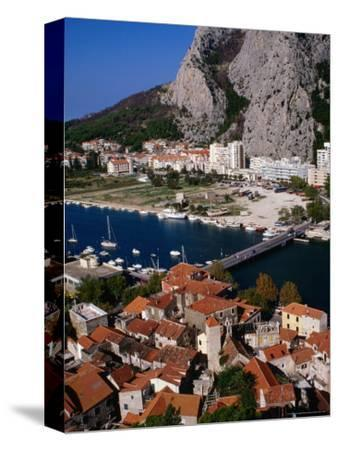 Old Town on Cetina River, Omis, Croatia
