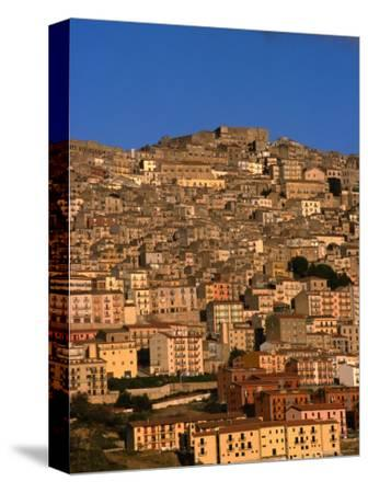 Townscape on Monte Marone, Gangi, Italy
