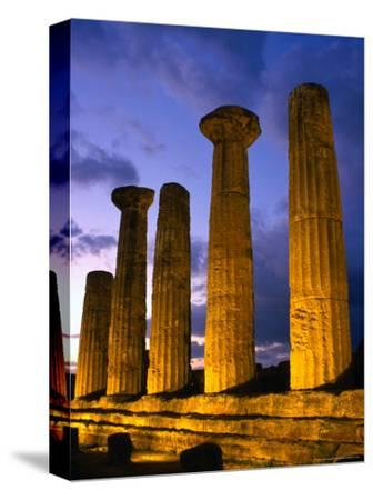 Valley of Temples at Temple of Hercules, Agrigento, Italy