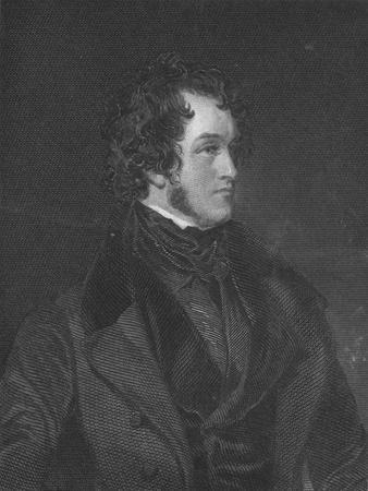 Mr. Harrison Ainsworth, c1840