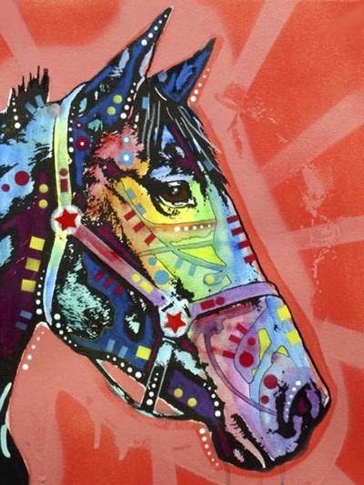 Wc Horse 3-Dean Russo-Giclee Print