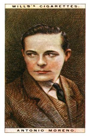 Antonio Moreno (1887-196), Spanish Actor, 1928