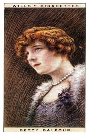 Betty Balfour (1903-197), English Actress, 1928