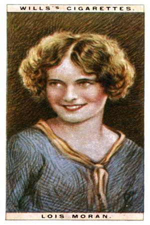 Lois Moran (1909-199), American Actress, 1928