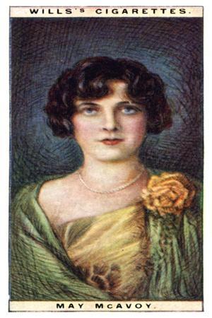 May Mcavoy (1899-198), American Actress, 1928
