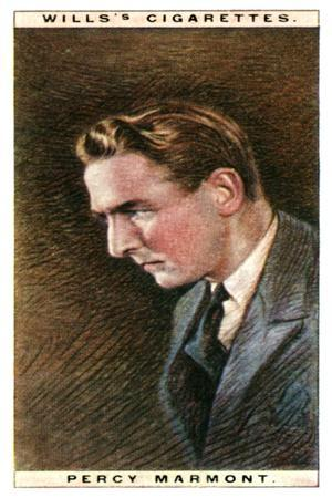 Percy Marmont (1883-197), English Actor, 1928