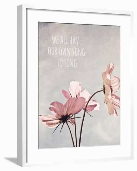 We All Have Our Own Song To Sing-Susannah Tucker-Framed Photographic Print