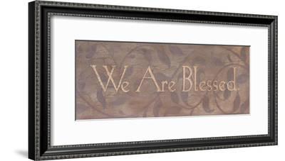 We Are Blessed-Stephanie Marrott-Framed Art Print