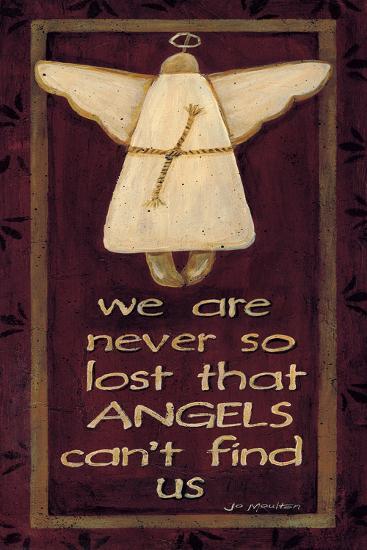 We are Never So Lost-Jo Moulton-Art Print
