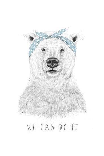 We Can Do It-Balazs Solti-Art Print