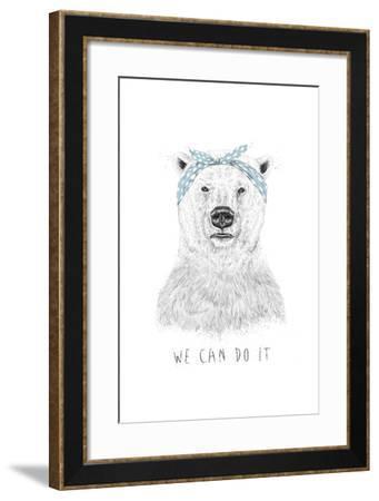 We Can Do It-Balazs Solti-Framed Art Print