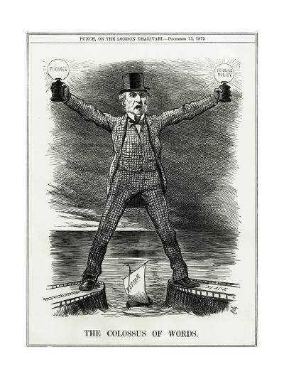 We Gladstone, Colossus--Giclee Print