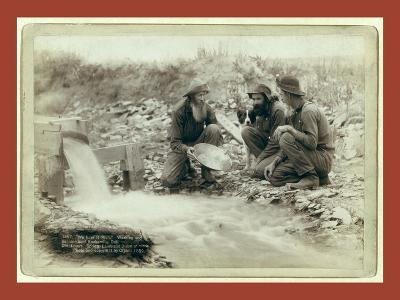 We Have it Rich. Washing and Panning Gold-John C. H. Grabill-Giclee Print