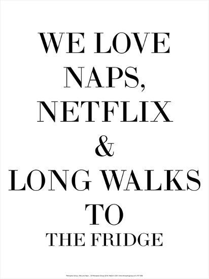 We Love Naps…-Retrospect Group-Art Print