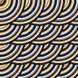 Colored Geometric Background Wallpaper-WE RESPECT YOUR CHOICE-Art Print