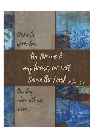We Will Serve Winter Rain-Smith Haynes-Art Print