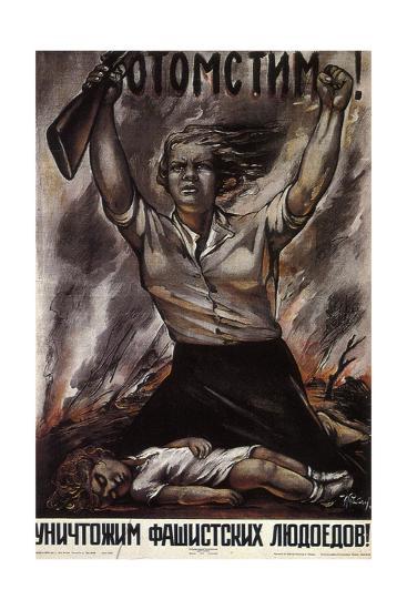 We Will Take Revenge!, 1941-Isaak Benyich Rabichev-Giclee Print