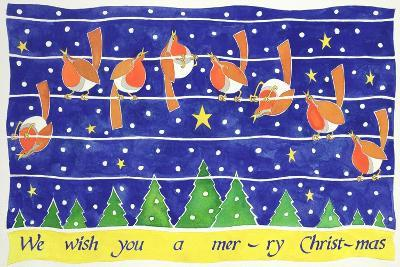 We Wish You a Merry Christmas-Cathy Baxter-Giclee Print