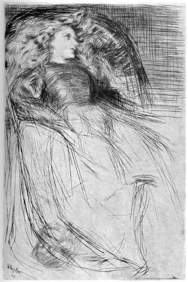 Weary, 1863-James Abbott McNeill Whistler-Giclee Print