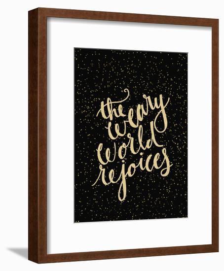 Weary World-Jetty Printables-Framed Art Print