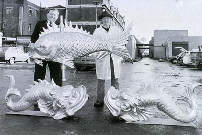 Weather Vanes, Billingsgate Market, C1981--Giclee Print
