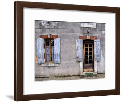 Weathered Doorway VI-Colby Chester-Framed Art Print