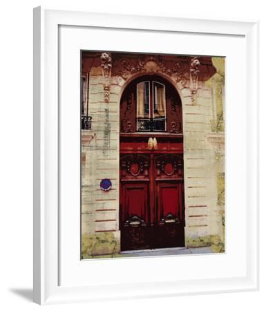 Weathered Facade II-Vision Studio-Framed Art Print