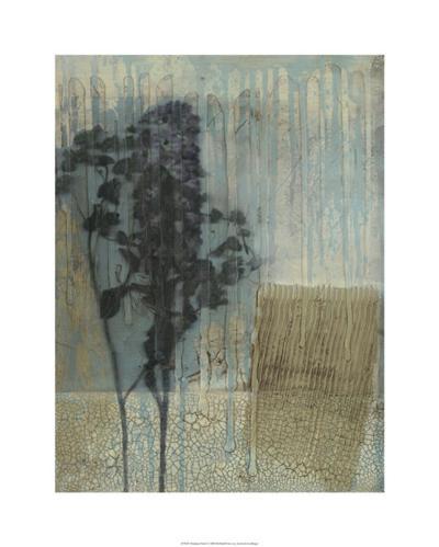 Weathered Floral I-Jennifer Goldberger-Limited Edition