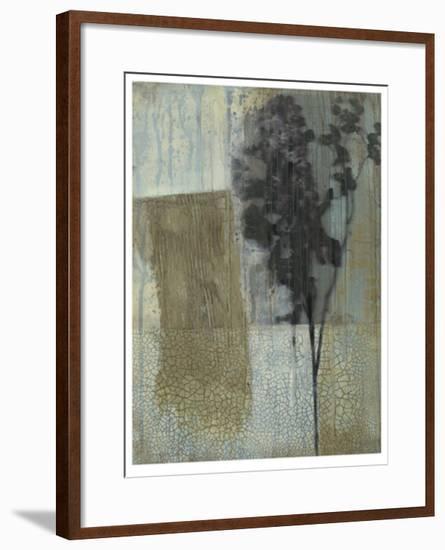 Weathered Floral II-Jennifer Goldberger-Framed Limited Edition