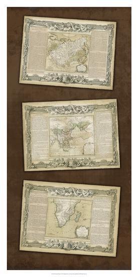 Weathered Maps I--Giclee Print