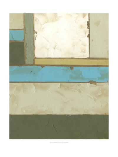 Weathered Paneling II-Jennifer Goldberger-Art Print