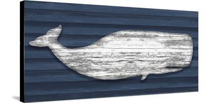 Weathered Whale-Sparx Studio-Stretched Canvas Print
