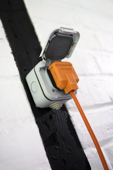 Weatherproof Electrical Socket Outlet-Sheila Terry-Photographic Print