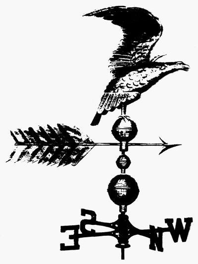 Weathervane, 19th Century--Giclee Print