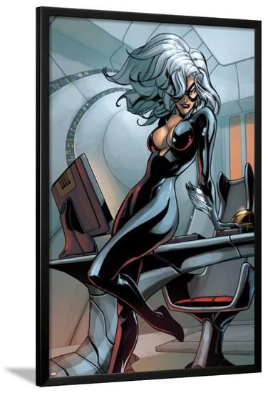 Web of Spider-Man No.11-Pepe Larraz-Lamina Framed Poster