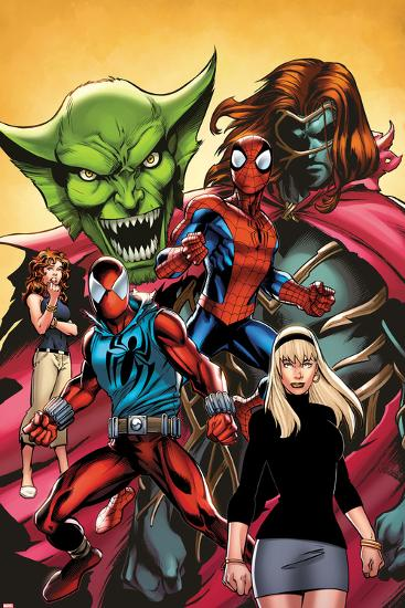 Web Warriors No.2 Cover, Featuring Jackal, Spider-Man, Kaine, Mary Jane Watson and More--Art Print