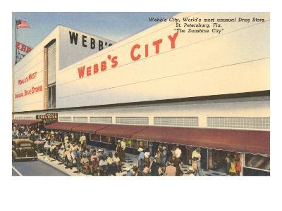 Webb's City Drug Store, St. Petersburg, Florida--Art Print