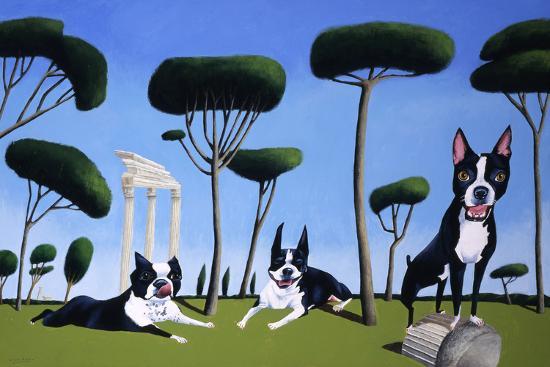Webster, Sassy and Bubbles-Mark Ulriksen-Art Print