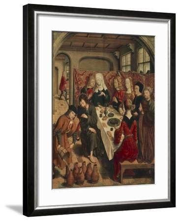 Wedding at Cana, 15th-16th Century--Framed Giclee Print