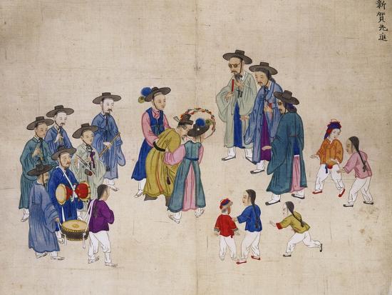 Wedding Ceremony-Kim Junkeun-Giclee Print