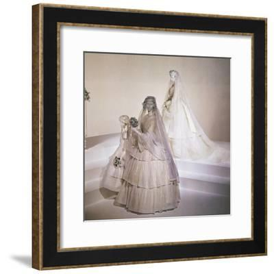 Wedding Dresses--Framed Giclee Print