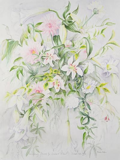 Wedding Flowers for Louisa and Robert, 1993-Alison Cooper-Giclee Print